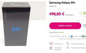 Así puedes ahorrar más de 100 euros en tu Samsung S9 +
