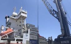 Los puertos de Almería aumentan un 86% la exportación de mercancías