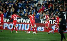 Portu aleja al Girona del descenso