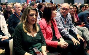 Susana Díaz tras su desacuerdo con Sánchez por las listas: «Tomo nota»