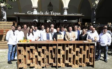 El restaurante La Tarasca logra alzarse con la victoria en 'Granada de Tapas'