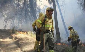 Controlado el incendio declarado este sábado en Alpujarra de la Sierra