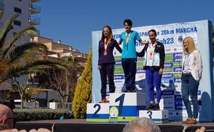 María Pérez repite como campeona de España de 20 kilómetros marcha