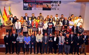 Linares premió a sus deportistas estrella de 2018