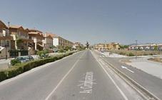 Cuatro personas resultan heridas en un accidente en Atarfe