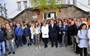 Concentración en Linares contra las agresiones a sanitarios