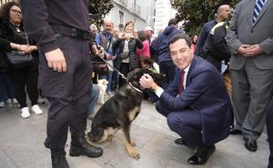 Un reconocimiento a las patrullas caninas de carne y hueso en Granada