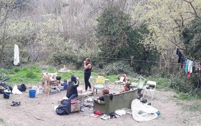 Reaparece el paraíso hippie de la Fuente del Avellano