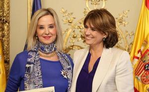 La Fiscal Superior de Andalucía, condecorada con la Cruz de Honor de la Orden de San Raimundo de Peñafort