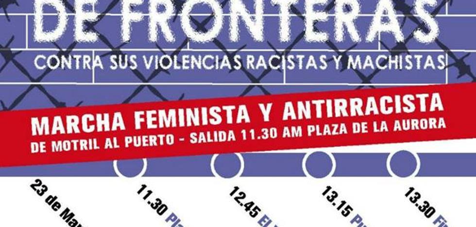 Convocan una manifestación feminista y antirracista desde Motril al puerto