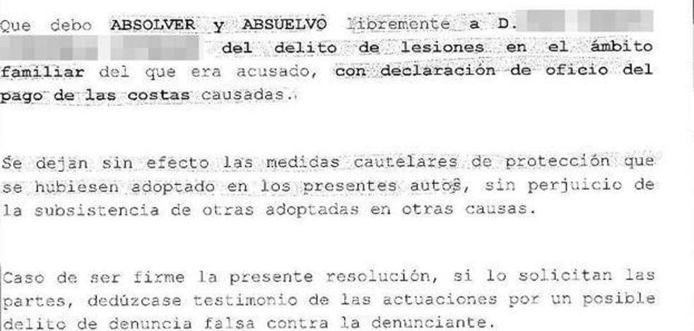 Piden multa de 5.400 euros para una mujer por inventarse un puñetazo de su ex