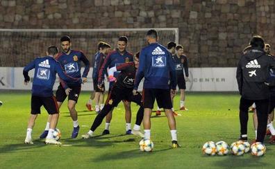 La selección española sub 21 llega a Granada a mediodía