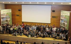 Reconocimiento a los 'campeones' del Circuito de Campo a Través de Diputación