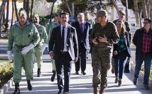 Habrá una pista de atletismo y un campo de rugby para la Base 'Álvarez de Sotomayor'