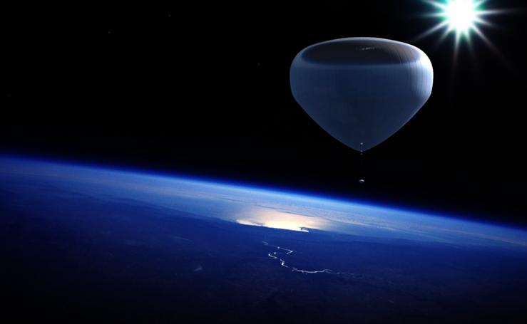 El proyecto 'Bloon', el globo del granadino que nos llevará al espacio