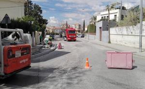 Estas son las calles de Granada y los días que estarán cerradas por el plan de asfaltado municipal