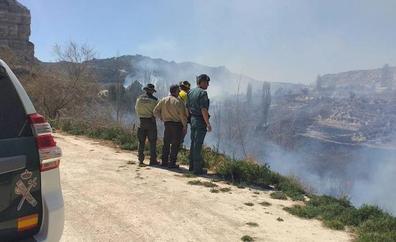 La Guardia Civil investiga a dos personas por sendos incendios forestales en Galera y Capileira