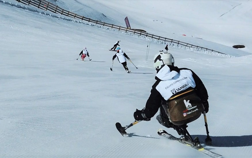 El gran fin de semana del esquí adaptado