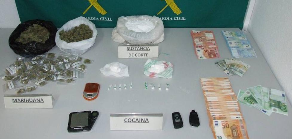 Nueve detenidos por drogas en Villanueva del Arzobispo, Beas y Jódar