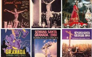 Los carteles de la Semana Santa de Granada desde 1952 hasta hoy