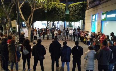 Nueva concentración en Almería por las últimas muertes en el mar de Alborán