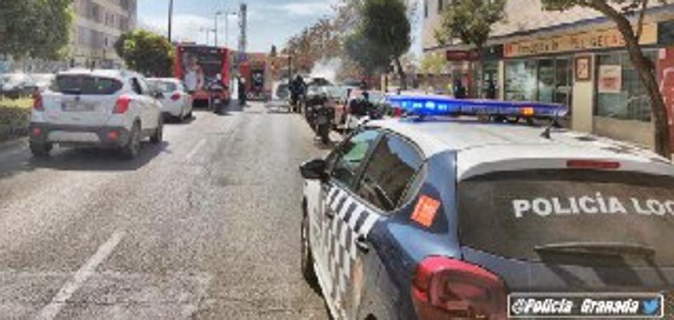 Arrestado por el incendio de tres contenedores en Granada