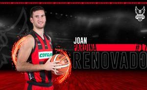 Joan Pardina, dos años más de rojinegro