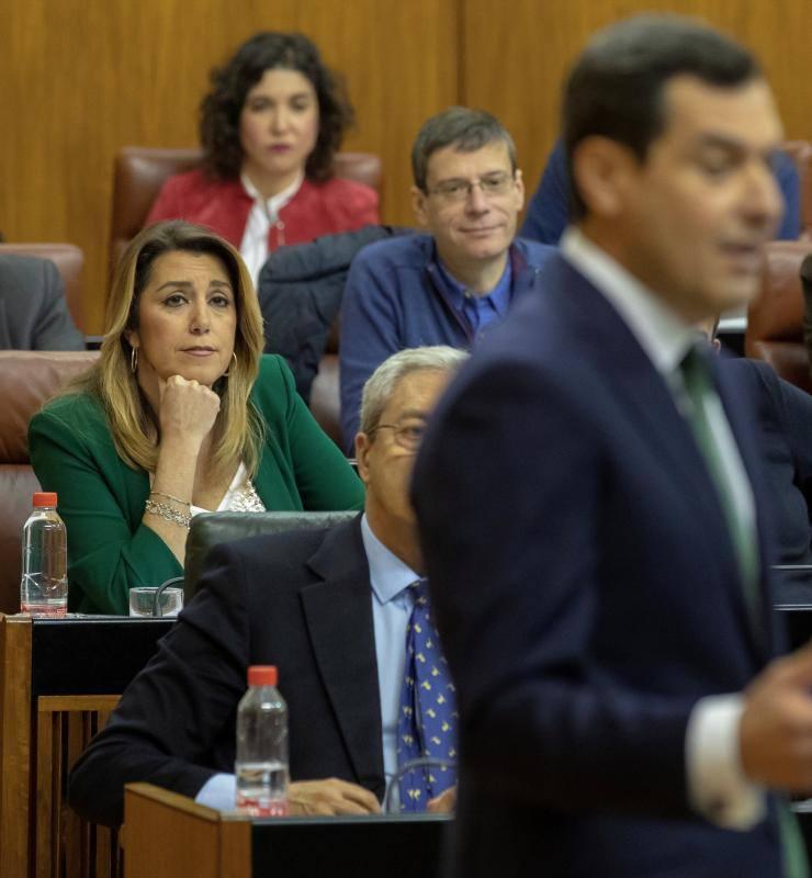 Moreno dice que Díaz «está dispuesta a romper su propio partido»