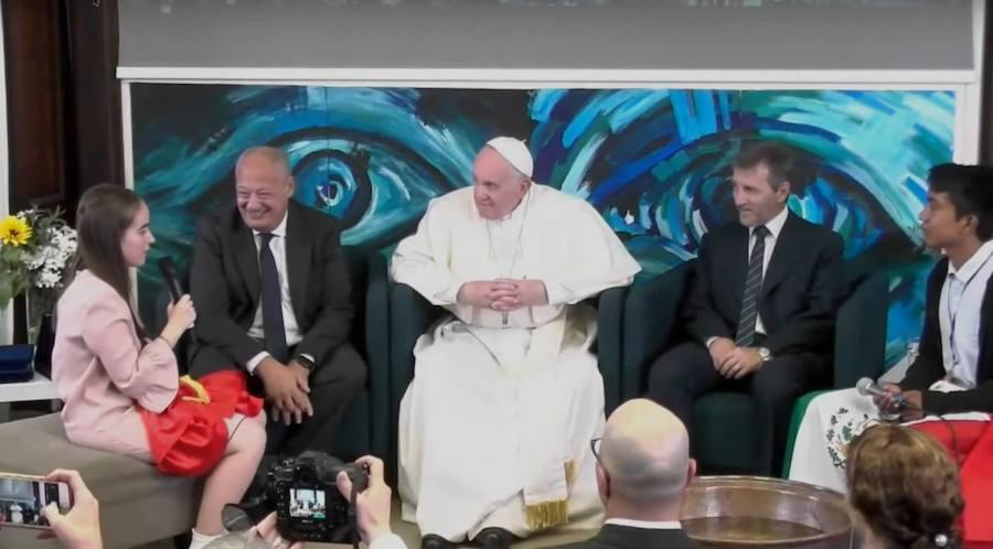 Así fue el encuentro granadino con el Papa