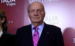 ¿Por qué el Rey Juan Carlos lleva el ojo morado?