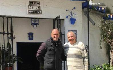 Zidane, en Granada