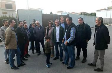 Millán apoya a los vecinos de La Manseguilla en regularizar sus casas