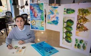 Los pececillos de Ana, la pintora granadina que 'venció' al Asperger
