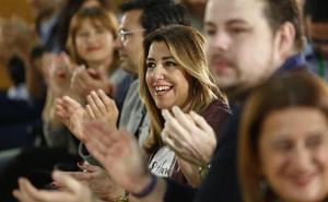 Díaz recalca en Granada que el PSOE de Andalucía «es y seguirá siendo el tronco del PSOE de España»