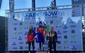 Luna Espín, campeona de España de gigante en U16