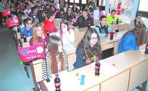 El concurso de relatos de Coca-Cola pone a prueba a alumnos de la ESO