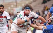 Honores de Unión Rugby Almería al Juan Rojas regalándole historia