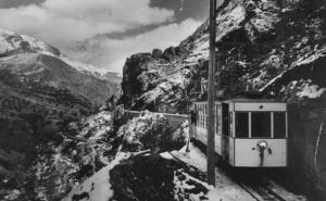 El tranvía de la Sierra desde dentro