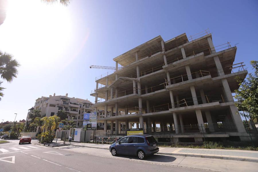 La obra nueva rebrota en Playa Granada