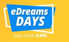 Aprovecha los eDreams Days para organizar tus vacaciones
