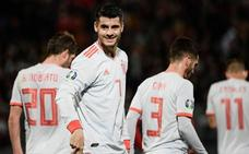 España coge confianza ante Bonello
