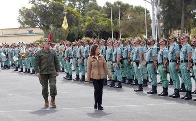 Defensa traslada su «pesar y solidaridad» a familia del legionario fallecido