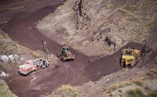 Las minas de Alquife resucitan y extraen hierro 23 años después