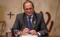 El Supremo rechaza la petición de Torra y mantiene la orden de retirar los lazos amarillos