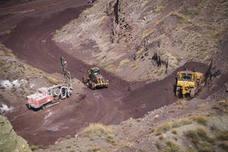 Alquife vuelve a funcionar y enviará hierro para su salida por Carboneras