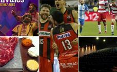 Los 5 sorteos de esta semana para El Club On+ de IDEAL: deporte, cine, cena y comparsas