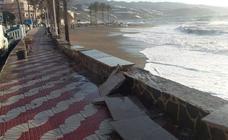 El PSOE culpa de los daños en las playas de Granada a «la falta de inversión» cuando gobernaba el PP