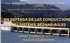 La protesta para exigir las canalizaciones de Rules logrará que VOX y Podemos se concentren juntos en Motril