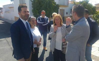 Aguasvira invierte más de 230.000 euros en renovar redes de Peñuelas de Láchar y en el Cerro del Chato