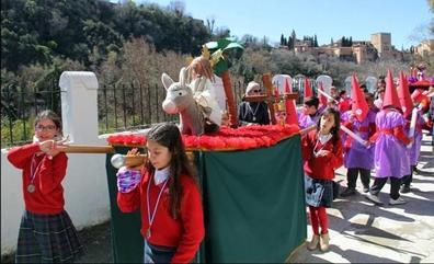 El 'cole' se prepara para Semana Santa